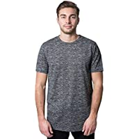 BROOKLYN ATHLETICS Men's T-Shirt Marl Modern Slim Fit Short Sleeve Tee Shirt