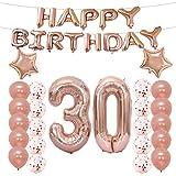 風船30数字パーティー誕生日結婚式飾り物アルミシャンパンカラーバルーン 誕生日 風船、誕生日 パーティー 飾り付け バルーン 風船 子供 大人 誕生日写真背景
