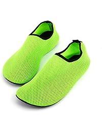 runmind Net靴ライトソフトレディースビーチ靴アウトドア水泳水靴ユニセックスソフトSeaside Wading Shoesオレンジ& 38 – 39