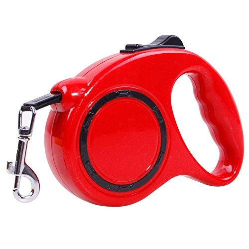 「homecoi」牽引ロープ 犬 ハーネス しつけ用リード 中型犬 小型犬 ペット用 犬用 伸縮リード ソフト 軽量 調節可能 簡単脱着 しっかり 柔軟 フィット シンプル 着やすい 快適 色サイズ選択可 ブラック ブルー レッド 赤 黒 青 S/L