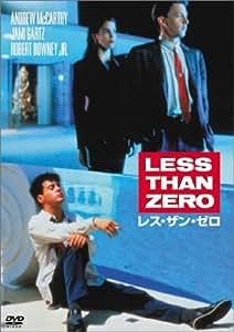 レス・ザン・ゼロ [DVD]
