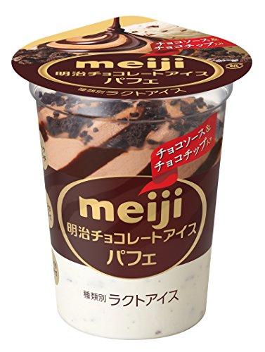 明治 チョコレートアイスパフェ 185ml×20個 -