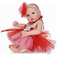 baynneシリコンRebornガールズベビー人形おもちゃ新生児プリンセス幼児赤ちゃん人形