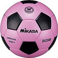 ミカサ(MIKASA) サッカーボール検定球5号(ピンク/ブラック) SVC5500-PBK PBK ピンク黒 5号球