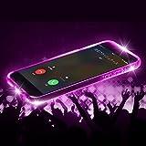 iPhone7Plus iPhone 7Plus LEDフラッシュケース 着信で光るケース AIC-FL-IP7PLUS