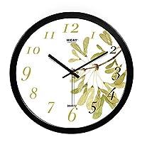 サイレントクォーツペンダント時計エレガントなリビングルームの壁時計12インチ14インチ、私は