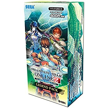 PHANTASY STAR ONLINE 2 TRADING CARD GAME LEGEND PACK BOX