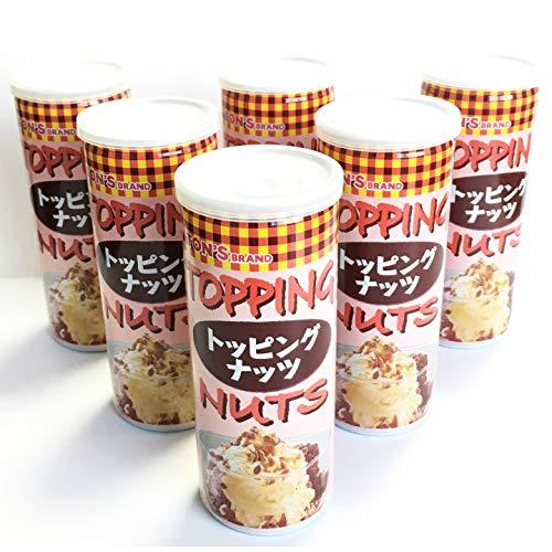 缶入り トッピングナッツ 120g アーモンド ピーナッツ クラッシュ ナッツ 6缶セット 調味料 ドレッシング