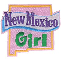 """New Mexico Girl 2.5"""" Embroidered Patch AVA2377k"""