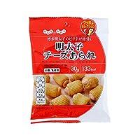 モントワール みんなのおやつ 明太子チーズあられ 30g×12個入り (1ケース)