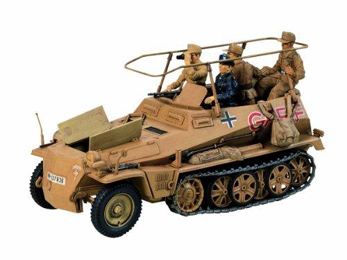 タミヤ 1/35 ミリタリーミニチュアシリーズ No.113 ドイツ Sd.Kfz.250/3 無線指揮車 グライフ 35113