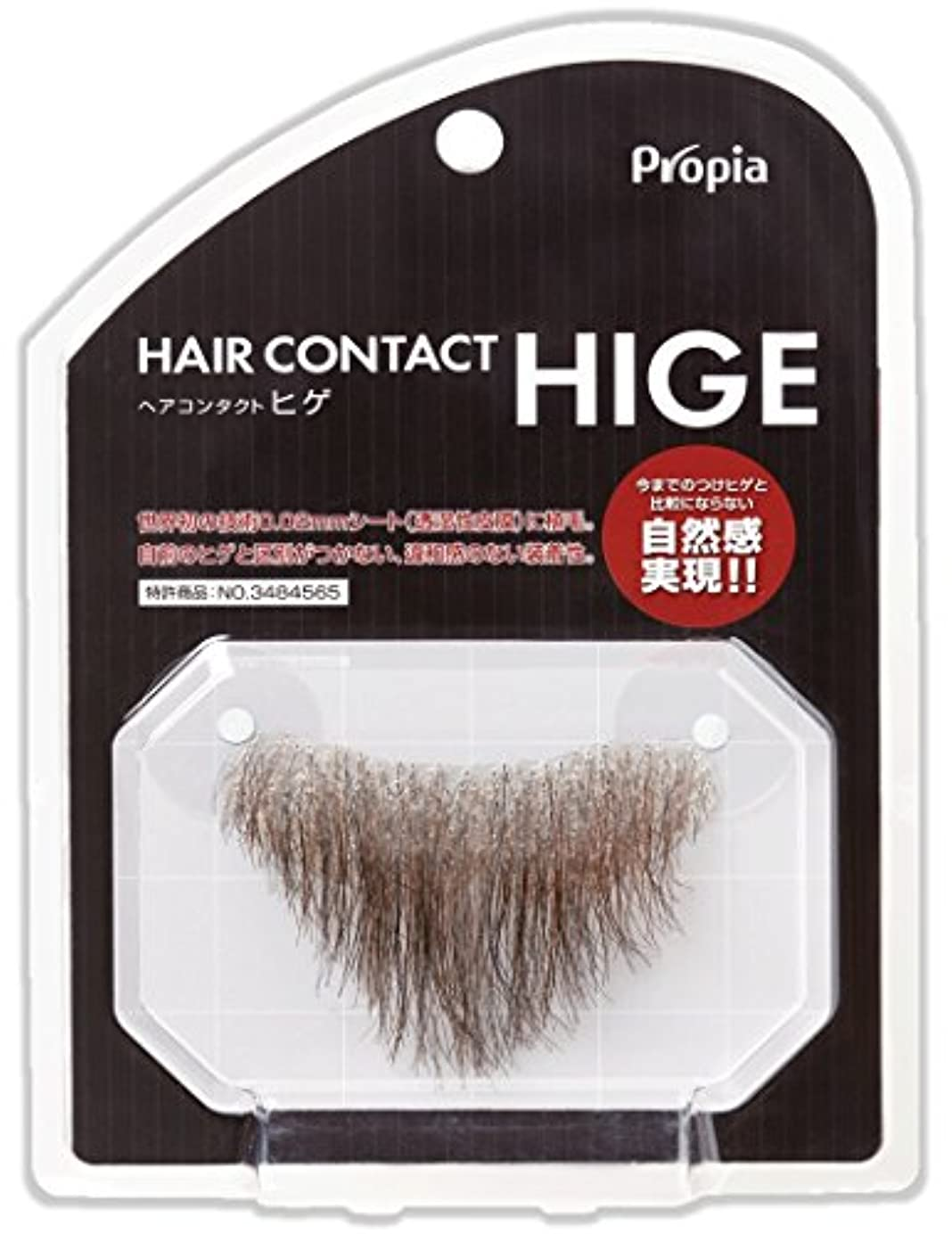 マオリ経験者魔術HAIR CONTACT HIGE アゴヒゲ カール