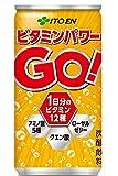 伊藤園 ビタミンパワーGO 缶190ml×30本 [栄養機能食品]