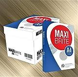 エイピーピー・ジャパン コピー用紙 A4 MAXI BRITE 紙厚0.09mm 2500枚(500×5) 白色度 87%