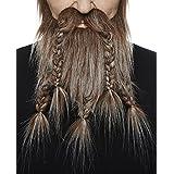 [マスタック]Mustaches Viking, Dwarf brown with gray beard and moustache 7130782 [並行輸入品]