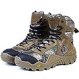 (海派物語)Shanghai Story 迷彩 軍用靴 コンバットブーツ ミリタリーブーツ 登山 ハイキング ジャングルブーツ 通気性 耐磨耗 ブーツ 42