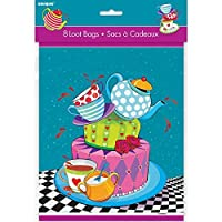 Mad Hatter Tea Party Goodie Bags, 8ct