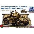 1/48 英・スタックハウンドMK.I 装甲車後期型 + ロケット弾