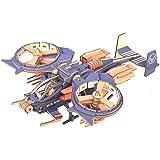 CC-Show 3Dパズル 大人用 (189ピース) 3D木製パズル/ジグソーパズル 子供用 趣味ギフト おもちゃ 装飾 - RDAガンシップモデルキット
