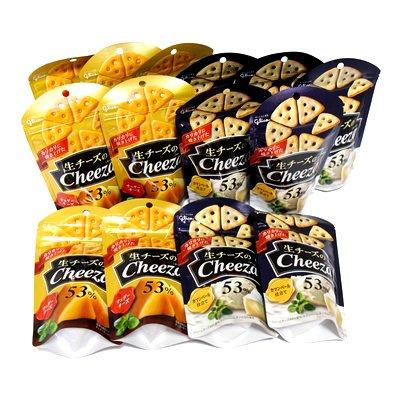 おかしのマーチ グリコ 生チーズのチーザ (2種類・計14個) セット D