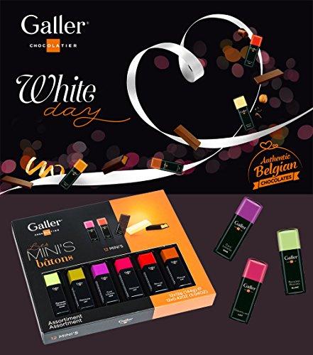 【Galler(ガレー)ベルギー王室御用達チョコレート】ミニバー12本入り