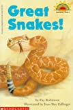 Great Snakes! (HELLO READER SCIENCE LEVEL 2)