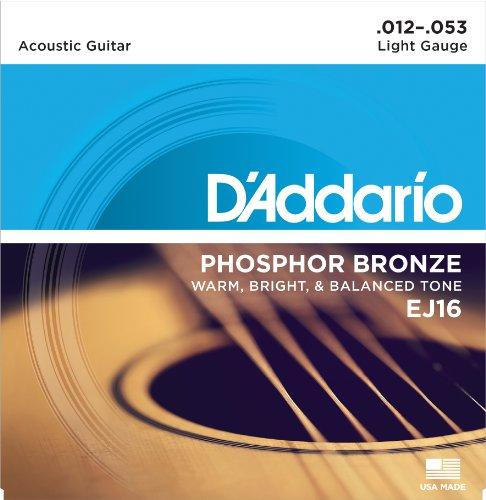D'Addario(ダダリオ)『PhosphorBronzeWoundLight(EJ16)』