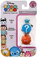 Disney Tsum Tsum Series 6 Sulley & Hank 1-Inch Minifigure 3-Pack #528 & 551 [並行輸入品]