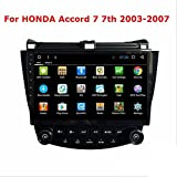 Android 6.1 Quad core 10.1 inch for Honda Accord 2003 2004 2005-2007 car Radio GPS Navigation Steering Wheel Control Bluetooth Stereo WiFi