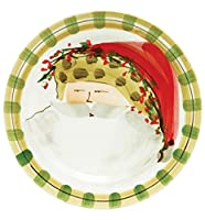 Vietri Old St. Nick Dinner Plate - Animal