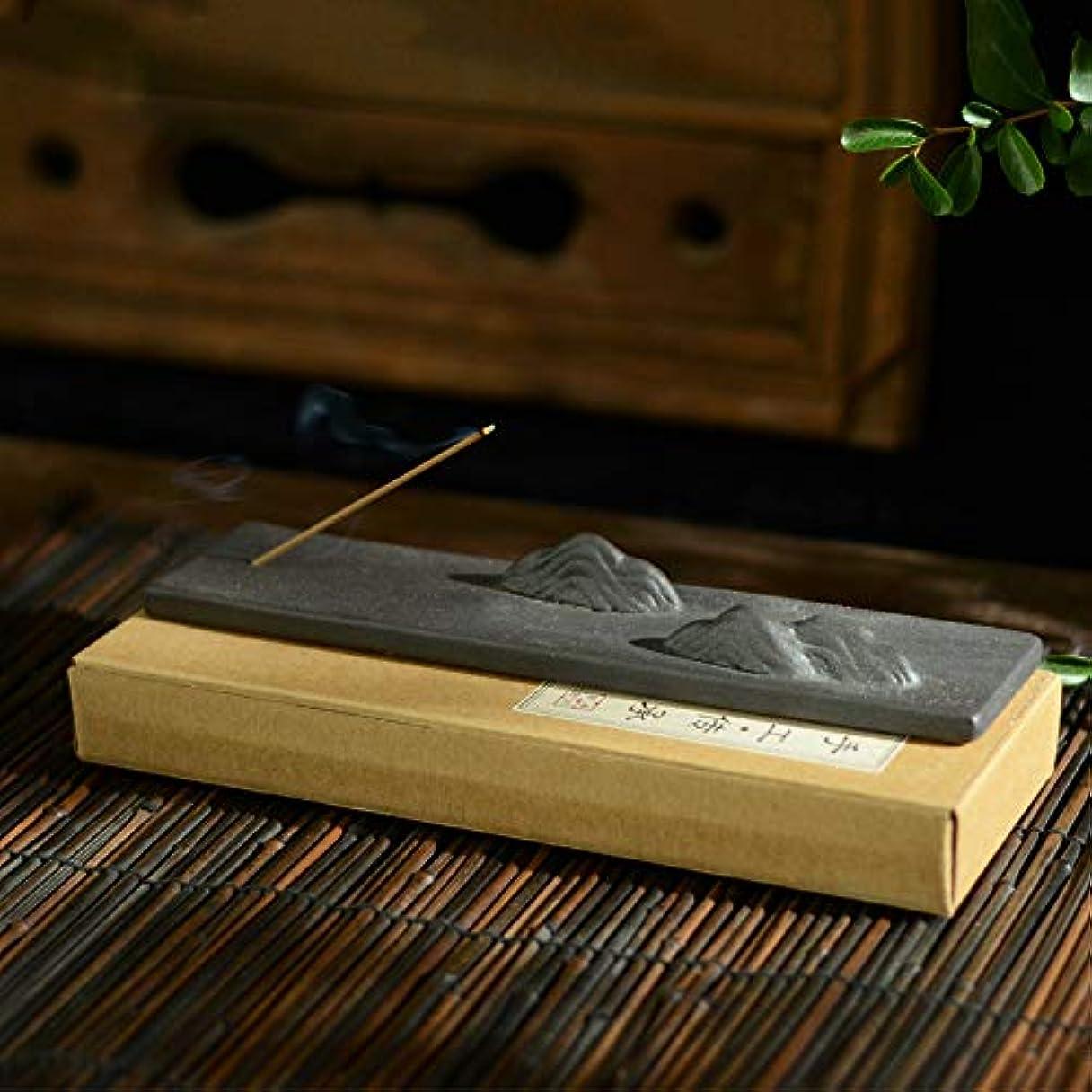 ゴールドメッセージナイロンPHILOGOD 手作り陶器香炉 クリエイティブスタイリング仏壇用 線香立て 香皿
