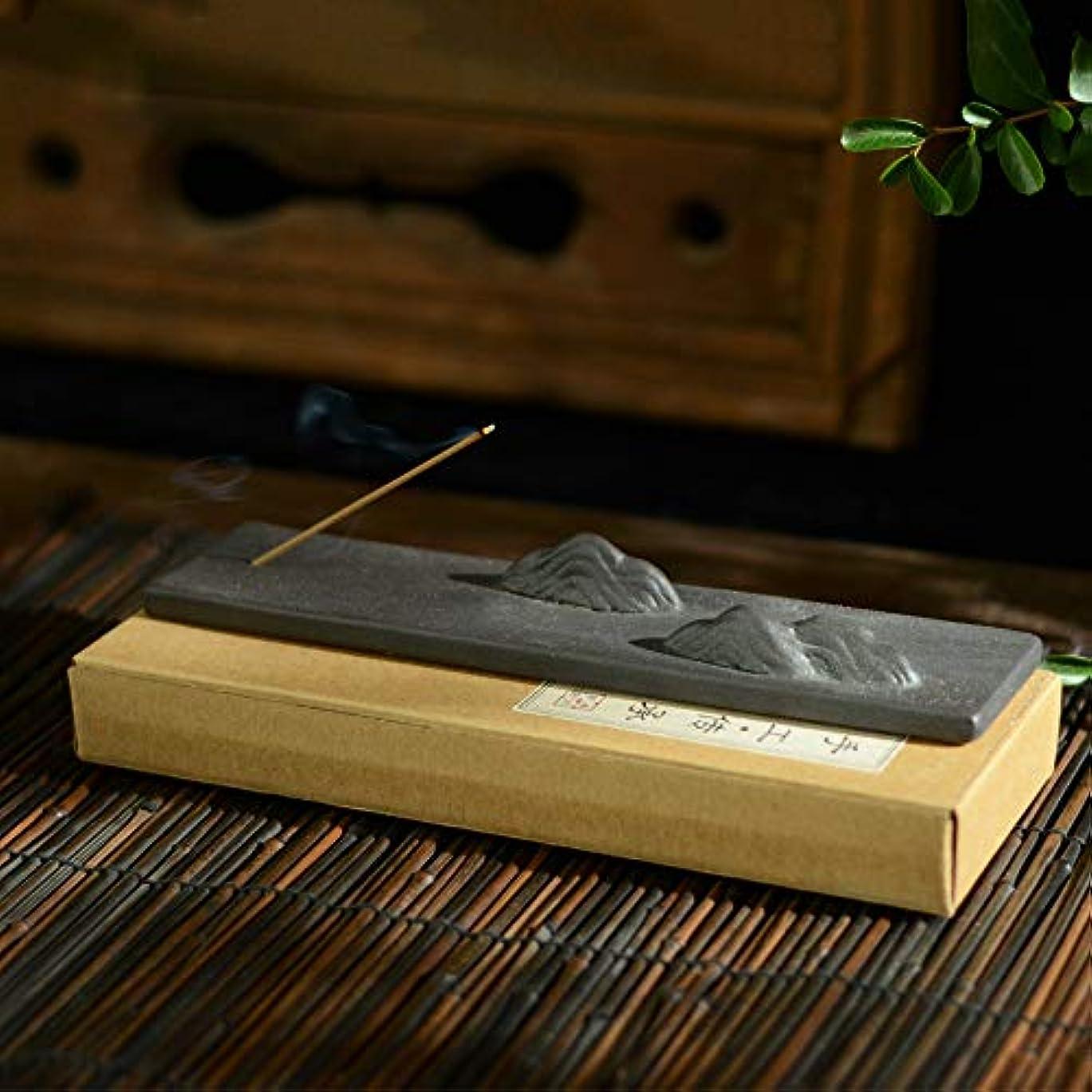 失望ハッピー間接的PHILOGOD 手作り陶器香炉 クリエイティブスタイリング仏壇用 線香立て 香皿