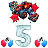 Blaze and the Monster Machines 5th Birthday Balloon Decoration Kit by Anagram