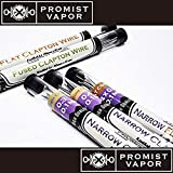 Promist Vapor「Kanthal A-1 クラプトンワイヤー」プロミストワイヤー / Clapton / リビルダブル用品 電子タバコ専用  (NARROW (0.4 +0.1mm))