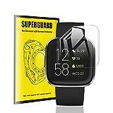 【3枚パック】TopACE Fitbit Versa 2 保護フィルム 高精細度 高光沢 TPU製 Fitbit Versa2 フィルム 対応