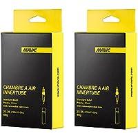 MAVIC(マビック) ロード インナー チューブ 700×23/25c リムーバブルバルブ(仏式32mm) 2本セット [並行輸入品]