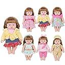 お人形遊び きせかえセット 洋服 ドレス 6着セット 26-30cmのお人形に