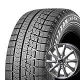 【適合車種:ホンダ フィット ハイブリッド(GP1)2010~】 BRIDGESTONE ブリザック VRX 175/65R15 スタッドレスタイヤ ホイールセット 一台分4本セット アルミホイール:AXEL アクセル フォー_シルバー 5.5-15 4/100 (15インチ スタッドレスタイヤホイールセット)