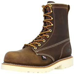 Thorogood 8 in Plain Toe Safety Toe: 804-4379