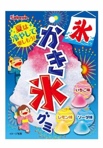 カバヤ かき氷グミ 55g×10袋