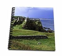 (12x12 memory book) - Danita Delimont - Castles - Dunluce Castle, County Antrim, Northern Ireland - EU15 RER0004 - Ric Ergenbright - Drawing Book