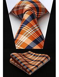 c8804ff8c1b92 Amazon.co.jp  ブルー - ネクタイ   ファッション小物  服&ファッション小物