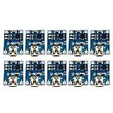Dolity Micro USB充電基板 10個セット 1A リチウム電池 充電モジュール