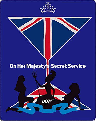 女王陛下の007 スチールブック仕様 [Blu-ray]