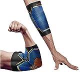 肘サポーター LiveupSports エルボー 肘固定 伸縮性 保温性 通気性 滑り止め 怪我防止 関節 腱鞘炎サポーター 靭帯 保護 アウトドア スポーツケア