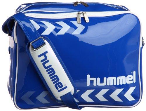 [ヒュンメル] hummel エナメルショルダーバッグL HFB3051  63 (ロイヤルブルー)