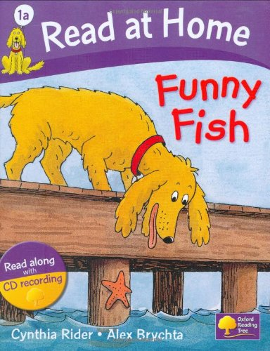 Read at Home: Level 1a: Funny Fish Book + CD (Read at Home Level 1a)の詳細を見る