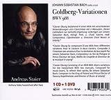 J.S. バッハ:ゴルトベルク変奏曲 BWV 988 (J.S.Bach: Goldberg Variations/ Andreas Staier) (1CD+1DVD) 画像