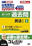 司法書士 山本浩司のautoma system オートマ過去問 (1) 民法(1) 2018年度