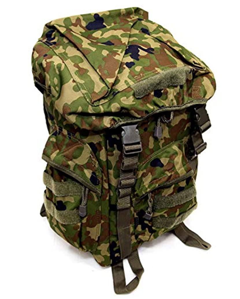 ある着替える理解ストームクロス (STORMCROS) リュックサック リュック パット付き 自衛隊 陸自迷彩 迷彩 ミリタリー カモフラ バッグ